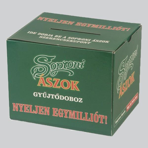 Szelvénygyűjtő doboz, Soproni