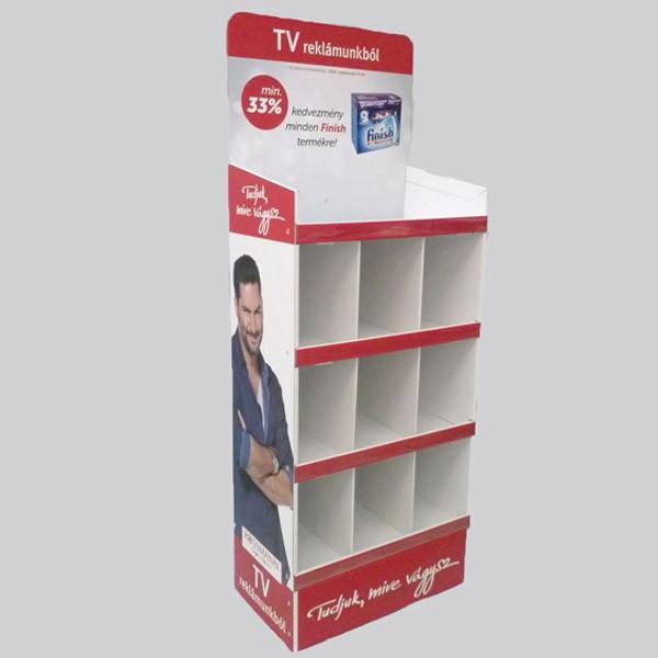 Papír display üzletbe