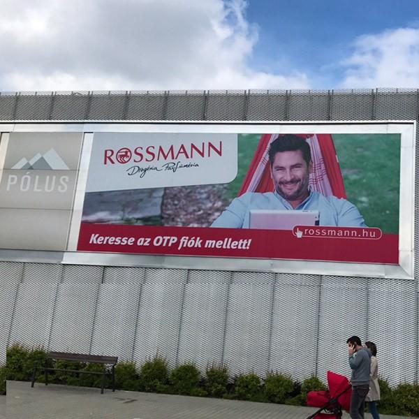 Óriásplakát, Rossmann